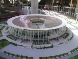 Castro mello architects - stadio brsilia con AutoCAD 3D